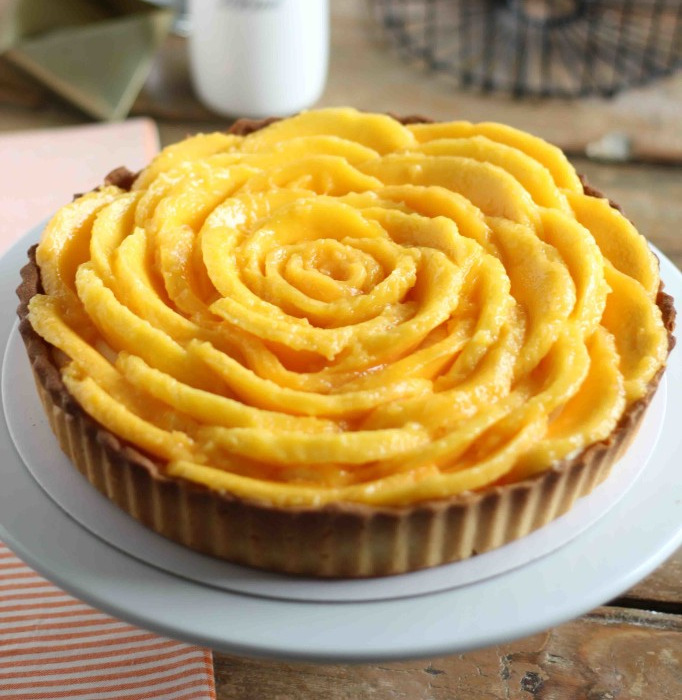 (1) Неодолив чизкејк колач со манго