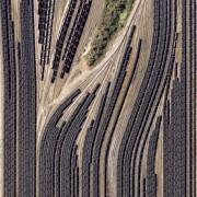 11. Возови со јаглен во депо – Вирџинија, САД
