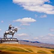 Гигантска статуа на Џингис Кан во Монголија