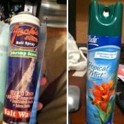 Заменете го освежувачот за воздух со нешто што мириса многу лошо