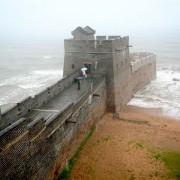 Местото каде што завршува Големиот кинески ѕид