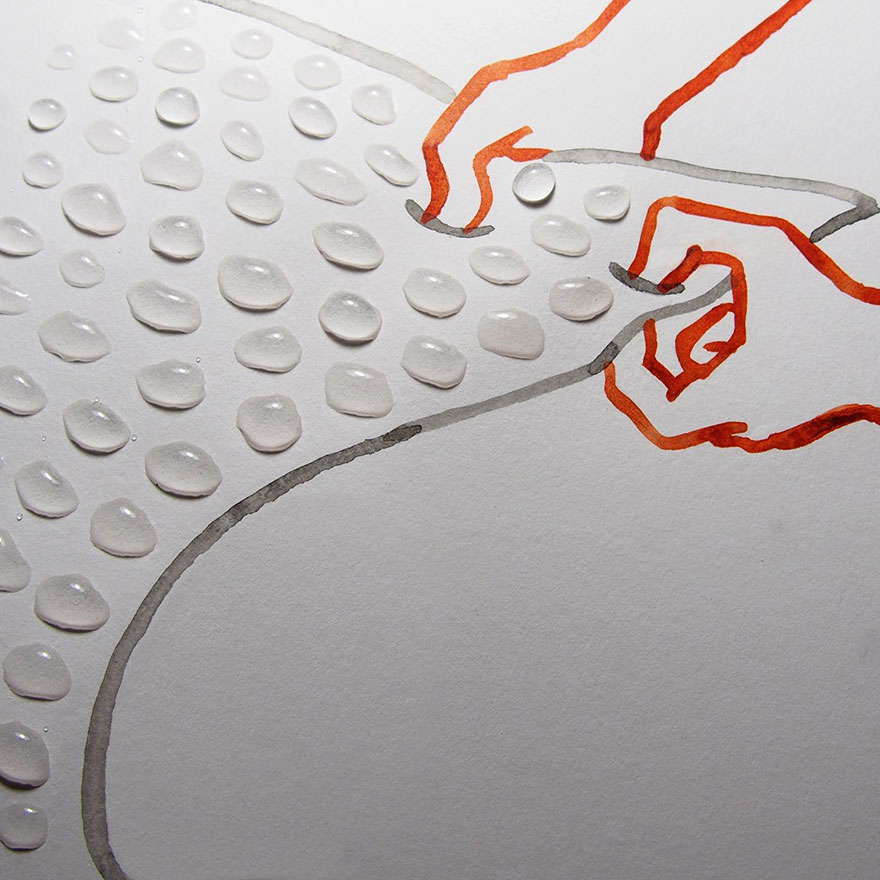 (2) Креативни цртежи надополнети со секојдневни објекти