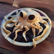 Пита во форма на октопод