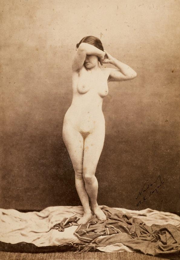 Фотографија на Феликс Надар, Мариета - солен принт на хартија добиен од стаклен негатив (околу 1855 година)