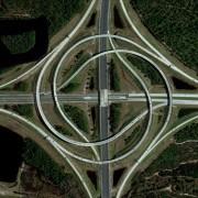 21. Сообраќајница во форма на турбина – Флорида, САД