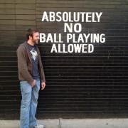 """Место на кое е забрането играње со """"топка"""""""