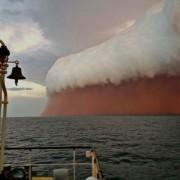 Песочна бура во Западна Австралија во 2013 година