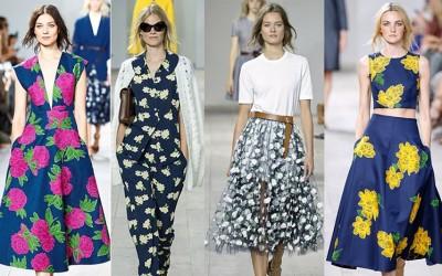 Летен моден тренд: Цветни дизајни