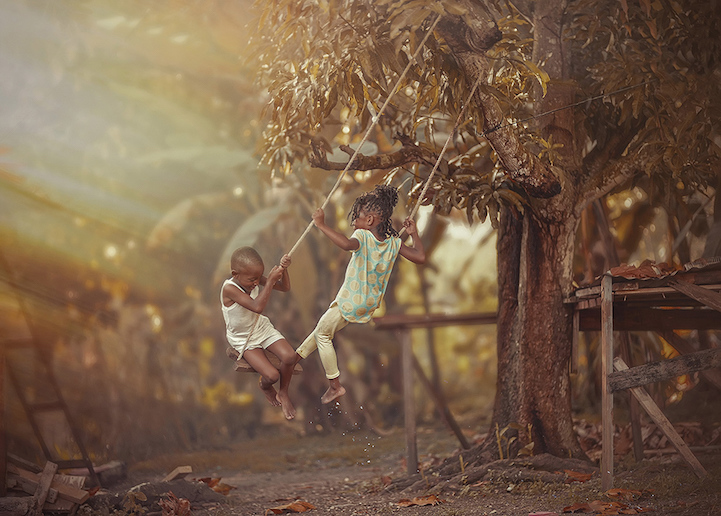 (1) Фотограф од Јамајка прави неверојатни фотографии во кои може да се забележи невиноста на детството