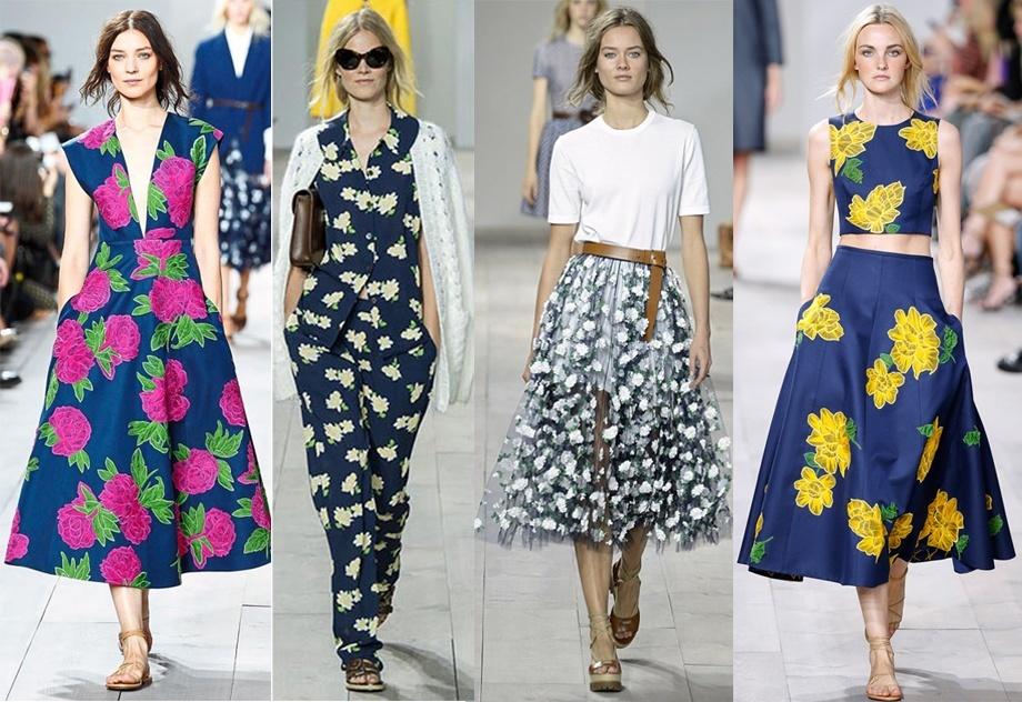 (1) Летен моден тренд: Цветни дизајни