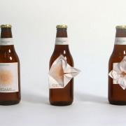 Оригами на шише