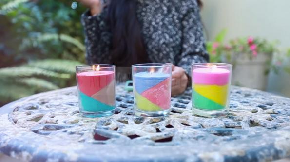 (1) Направете сами: Колоритни миризливи свеќи за вашиот дом, составени од мрсни боички