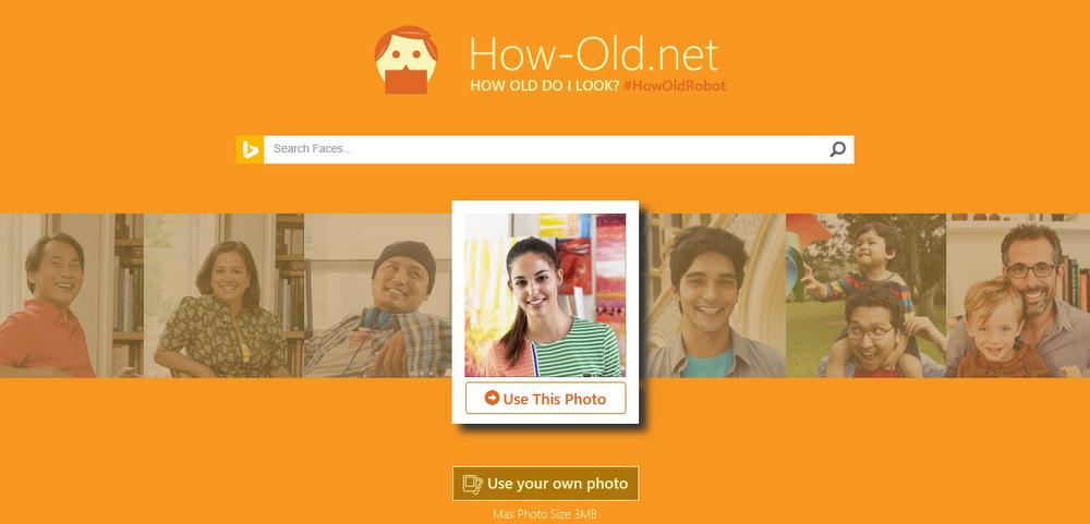 Веб-сајт кој може да погоди точно колку години имате