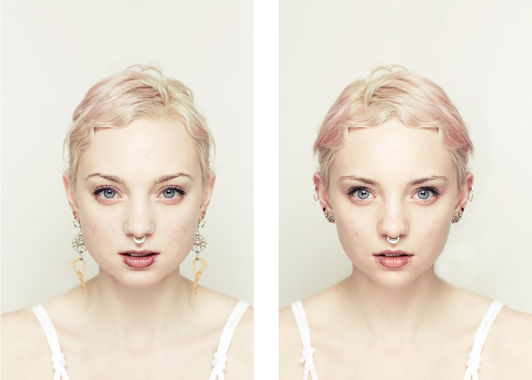 (1) Фотографии кои ни покажуваат дека посиметричното не секогаш значи и поубаво