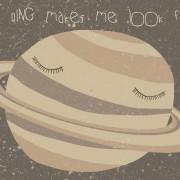 Сатурн: Прстенов прави да изгледам дебело