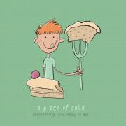 Парче торта (нешто многу едноставно за правење)