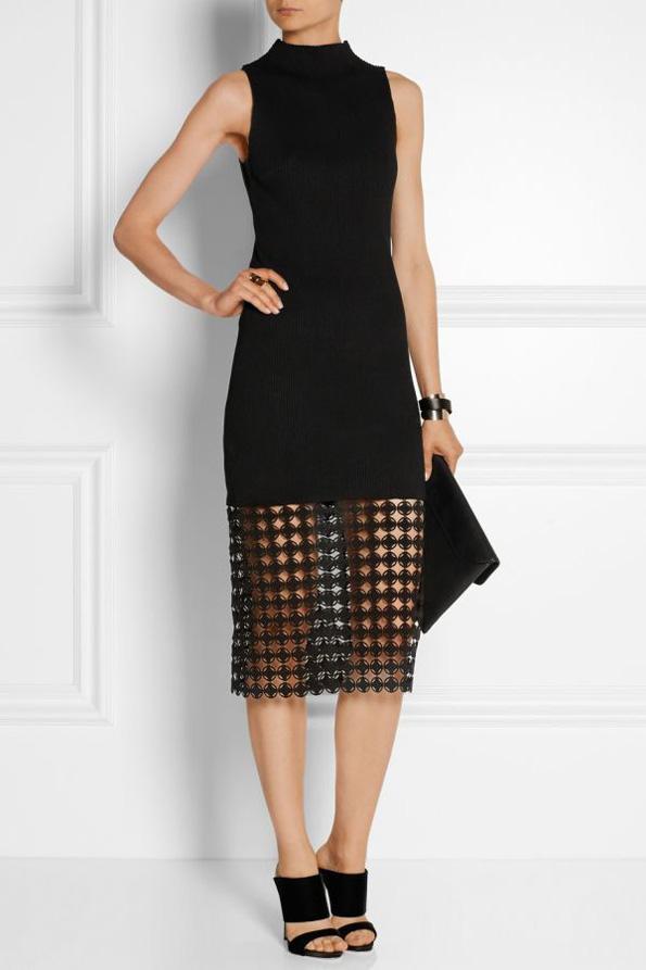 (2) Како да носите црни модни комбинации за време на летото?