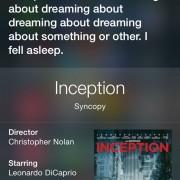 """Сири, за што се работи во филмот """"Inception""""?"""