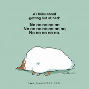 Хаику за станување: Не не не не не Не не не не не не не Не не не не не.