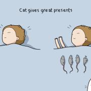 Мачката дава најдобри подароци