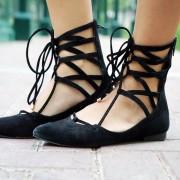 Обичните балетанки заменете ги со балетанки на врзување (3)