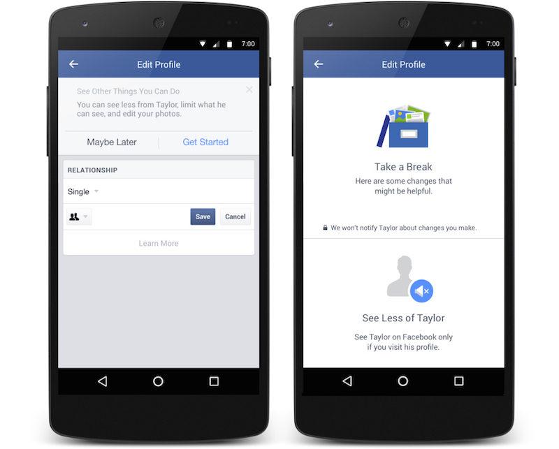 (2) Отсега Фејсбук ви дозволува целосно да ги избришете бившите од вашиот тајмлајн