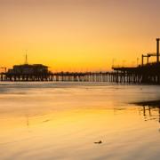 Пристаништето Санта Моника, Калифорнија