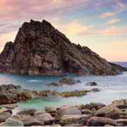 Изгрејсонце покрај карпите Шугарлоаф, Западна Австралија