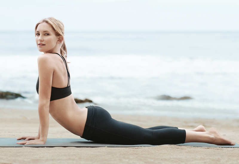 Кејт Хадсон открива: Најдобрата вежба за совршено обликувани нозе