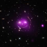 """Се чини дека групата од галаксии наречена """"Чеширова Мачка"""" се смее"""