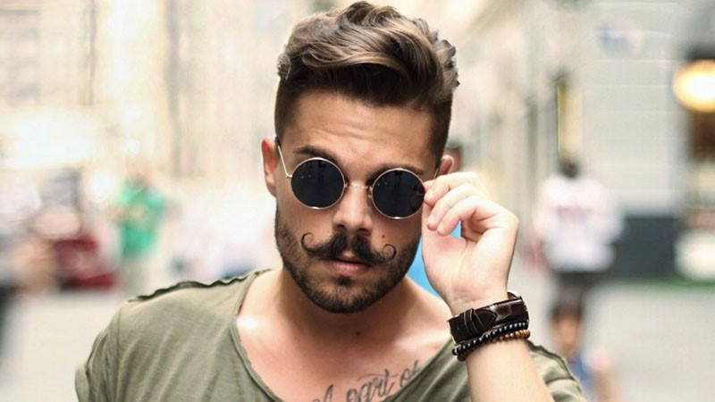 9 модерни стилови на мустаќи