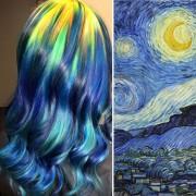 """""""Ѕвездено небо"""" - Ван Гог"""