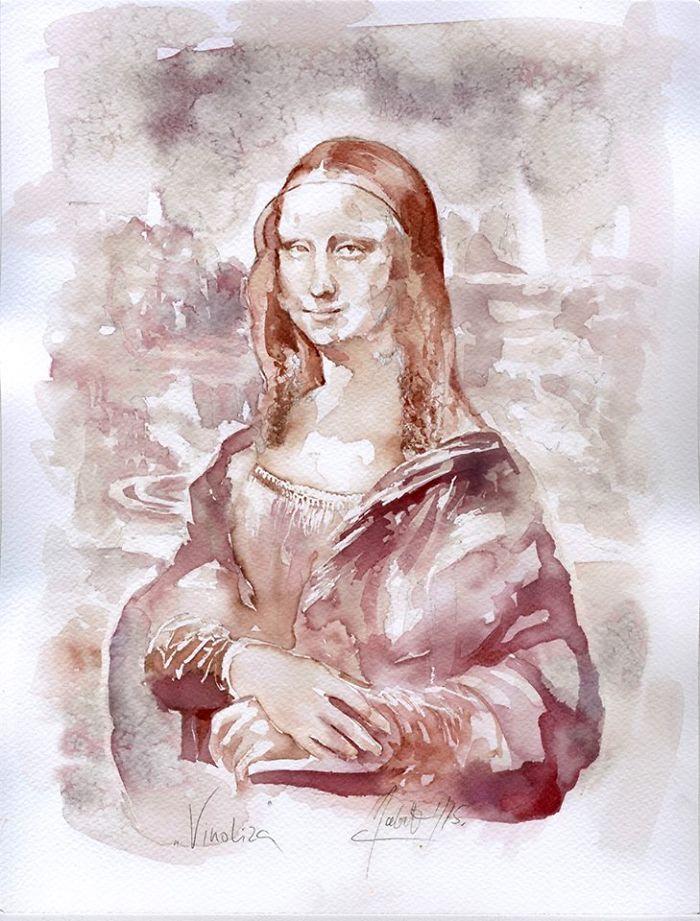 Најоригиналната техника на сликање: Уметнички дела изработени со вино