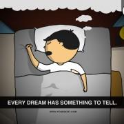 Секој сон има нешто да каже