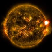Моќта на овие експлозии на површината на сонцето e толку голема што не може да биде реплицирана од човештвото и неговите изуми