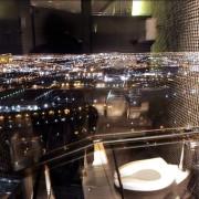 Поглед од тоалетот во ноќен клуб во Лас Вегас