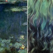"""""""Водни лилјани"""" - Клод Моне"""