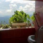 Тоалет со поглед во Лаос