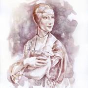 Дамата со хермелин - Леонардо да Винчи