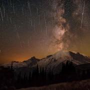 Персеиди, метеорски дожд над Националниот парк планината Реинир
