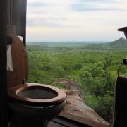 Тоалет во сафари колиба, Јужна Африка