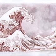 Големиот бран на КанагаВајн - Катсушика Хокусаи