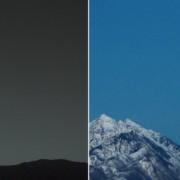 Земјата гледана од Марс и Марс гледан од Земјата