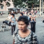 Улична фотографија од Северна Кореја
