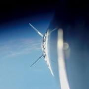 Неверојатна снимка нè води на тест лет со ракета во вселената