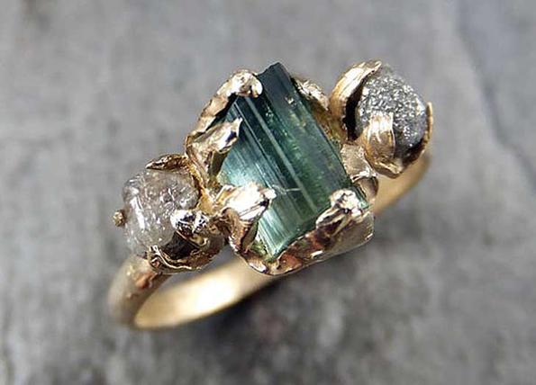 (6) 7 нетрадиционални скапоцени камења за веренички прстени