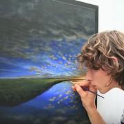 Артист создал неверојатно тајмлапс видео со своите уметнички дела