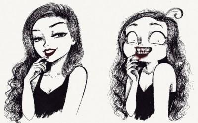 Илустрации кои докажуваат колку е тежок животот на една урбана девојка