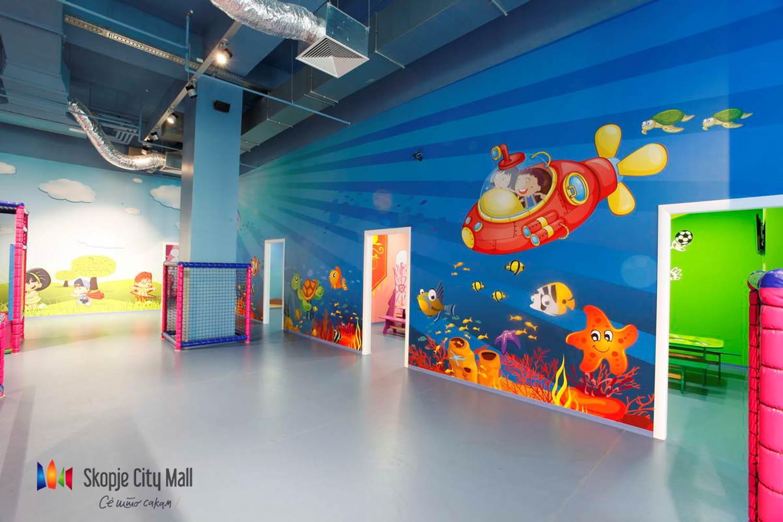 Креативни работилници и голема роденденска забава за деца за четвртиот роденден на Скопје сити мол