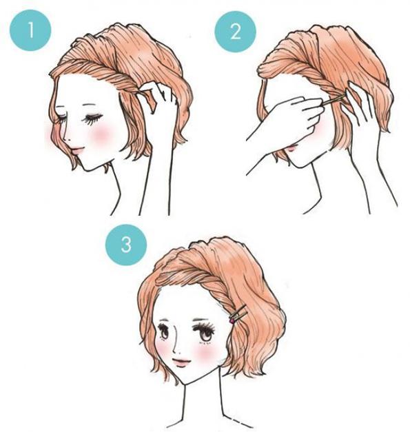 Неверојатно едноставни фризури што секој може да ги направи